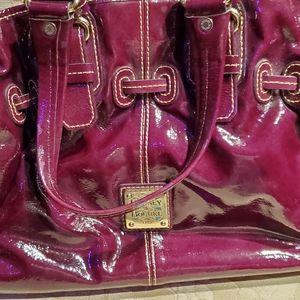 Small cranberry purse
